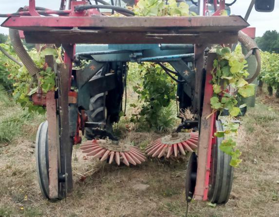 Démonstrations d'outils de travail du sol à Château-Thébaud