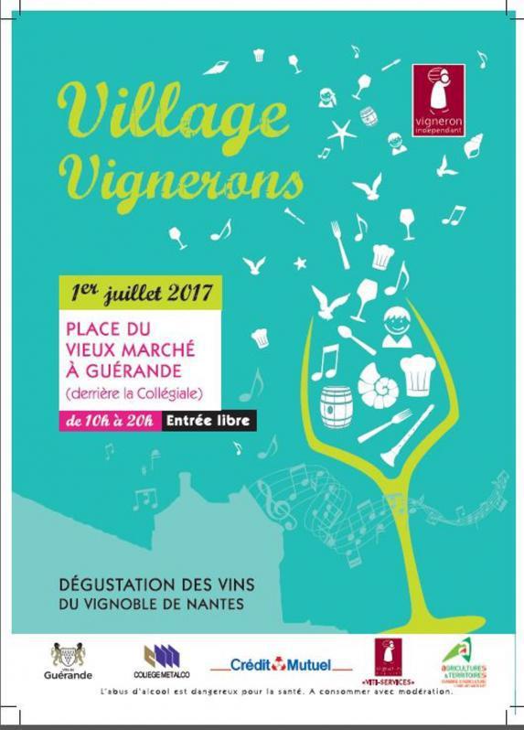 Loire-Atlantique- Un village vigneron à Guérande !
