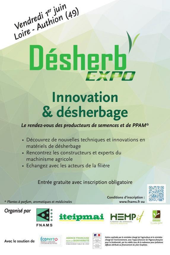 Desherb'expo pour les plantes aromatiques et les semences