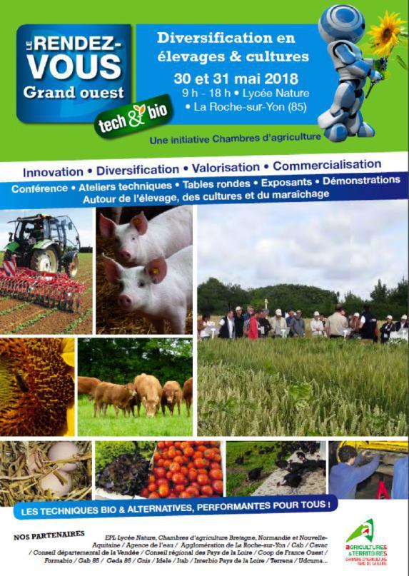 Pays de la Loire- Tech & bio à La Roche sur Yon !