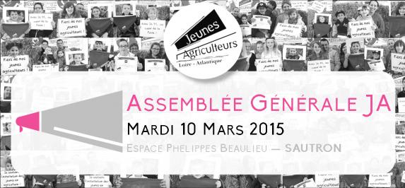 AG de JA 44 : Mardi 10 Mars à Sautron