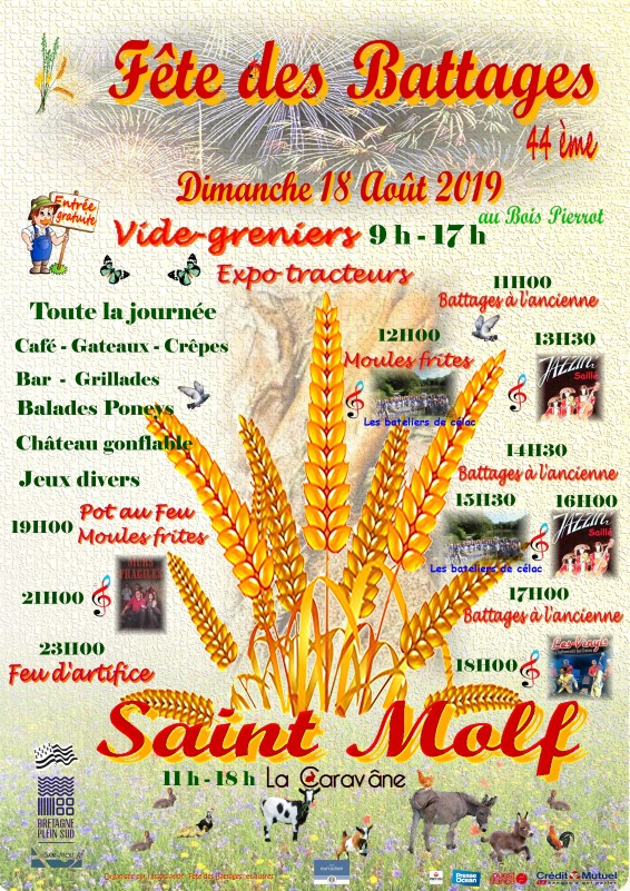 Fête des battages de Saint-Molf