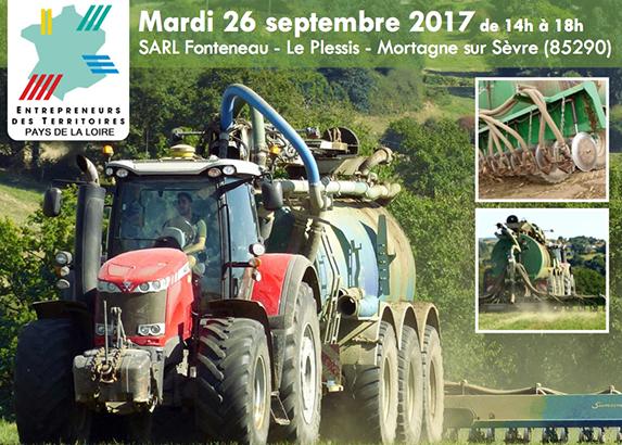 Pays-de-la-Loire - Journée technique épandage de lisier